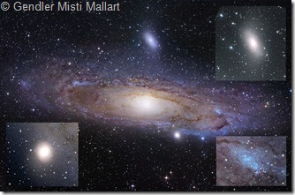 M 31 31 110  Gendler & Misti & Mallart