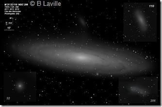 M 31 32 110  NGC 206  T635  BL 2011 12 16