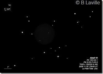 Abell 16  PN G153.7 22.8  T635  BL