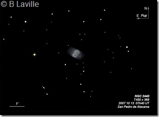 NGC 2440  T450 BL