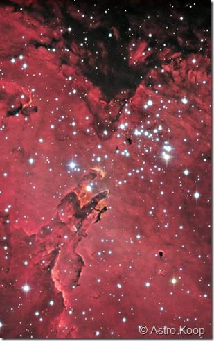 M 16 T450 Astro Koop