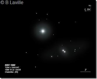 NGC 1980  T254  BL 1998 22 10