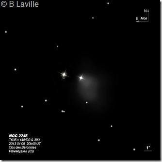 NGC 2245  T635  BL 2013 01 08