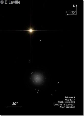Palomar 9  NGC 6717  T508 BL 2010 04 Tivoli retraité 2017 02