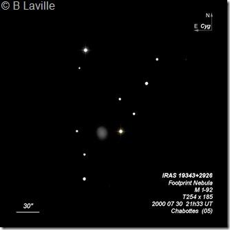 IRAS 19343 2926  M 1-92  T254  BL 2000 07 30