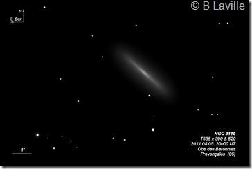 NGC 3115  T635  BL 2011 04 05