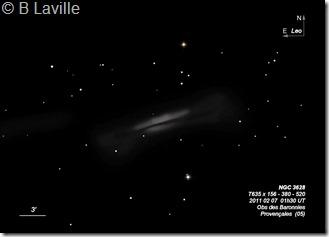 NGC 3628  T635  BL 2011 02 07