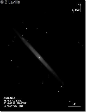 NGC 4244  T635  BL 2010 03 12