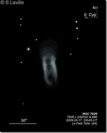 NGC 7026  T635 BL110 2009 09 18