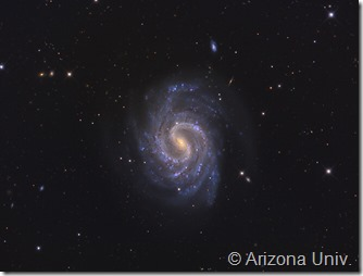 NGC 4535 Arizona univ