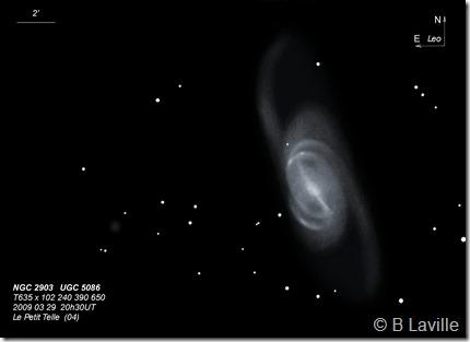 NGC 2903  UGC 5086  T635  BL