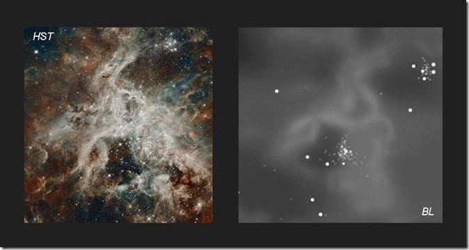 NGC 2070 core