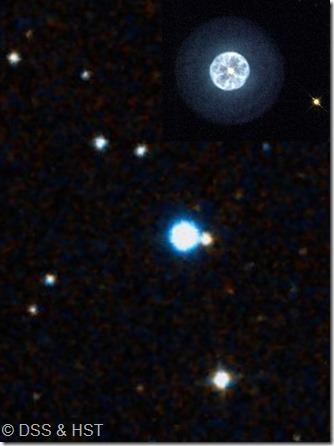 IC 3568 DSS & HST