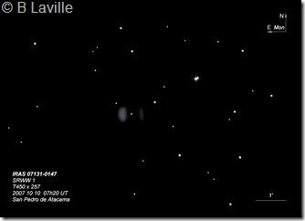 IRAS 07131-0147  T450 BL
