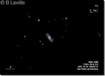 NGC 1350  T330 BL