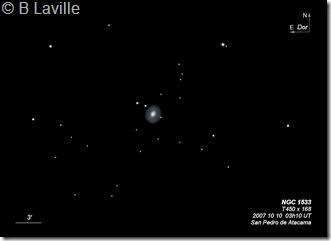 NGC 1533  T450 BL