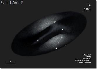 NGC 5128DL  T508  BL 2010 04 Tivoli