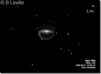NGC 7552  T500 BL Namibie 2006