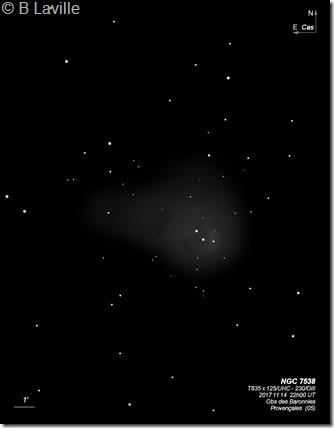 NGC 7538  T635 BL