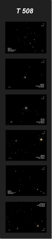 PGC 10074  Fornax 1à6  T500 BL  2006 09  Namibie Tivoli