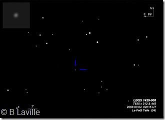QSO LBQS 1429-008  T635 BL