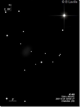 IC 423  T254  BL 2001 10 25