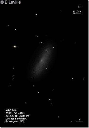 NGC 2841  T635  BL 2012 02 18