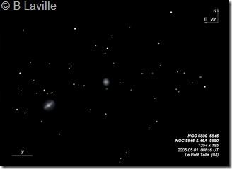 NGC 5839 45 46 46A 50  T254  BL EN