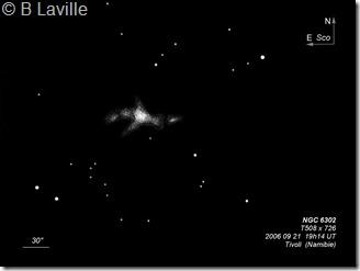 NGC 6302  T508  BL Tivoli 2006