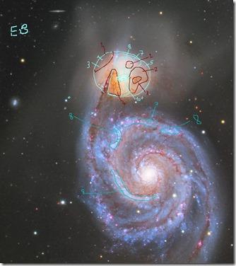 M 51 Gendler 2016 03 11 NGC 5195