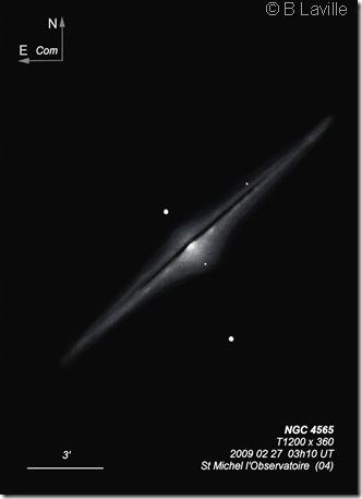 NGC 4565  TOHP1200  BL  OHP
