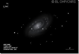 NGC 2403  TOHP1200  BL