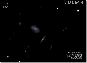 NGC 6845 ABCD  T508  BL  Tivoli Namibie