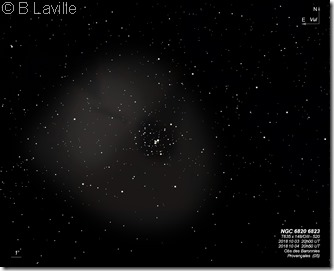 NGC 6820 6823 T635 BL
