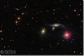 NGC 7465 group SDSS