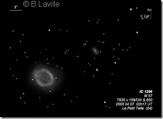 IC 1296  M 57  T635  BL