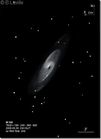 M 106  T635  BL 2009 05 28