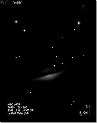 NGC 1055  T635  BL