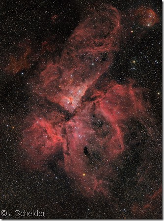 NGC 3372 Eta Car J Schelder