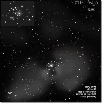 NGC 3603  T508  BL 2012 06 16 & 20 & 21
