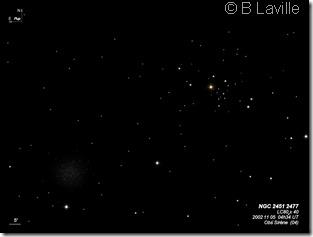 NGC 2451 2477  L80  BL 2002 11 12