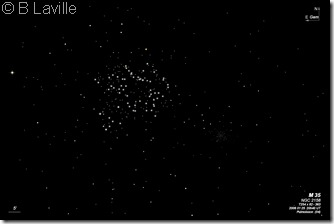 M 35  NGC 2158  BL 2002 01 25