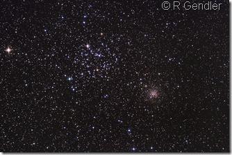 M 35  NGC 2158 Gendler a
