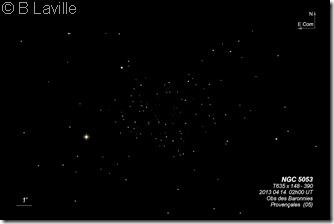 NGC 5053  T635  BL 2013 04 14