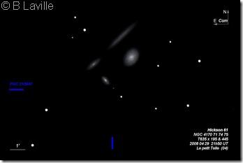 HCG 61  NGC 4170 71 74 75  T635  BL