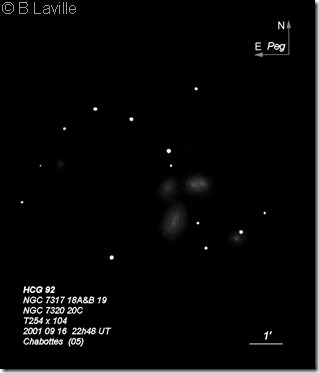 HCG 92  T254  BL 2001 09 17