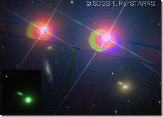 Mrk 421 UGC 6132 PGC 33453 SDSS & PanSTARRS