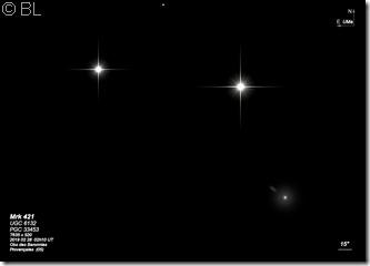 Mrk 421 UGC 6132 PGC 33453 SDSS T635 BL