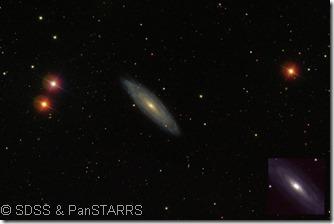 NGC 3254 SDSS & PanSTARRS