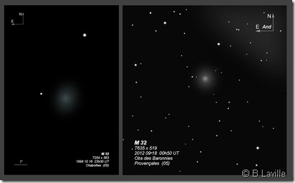 M 32  T254 vs T635 BL